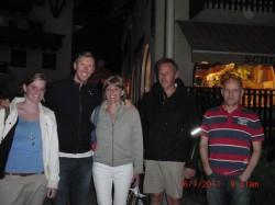 Werner Heel mit Fans...