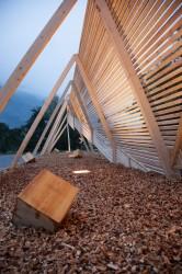 Holzskulptur (Entwurf ...