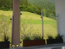 Windschutz mit Glas...