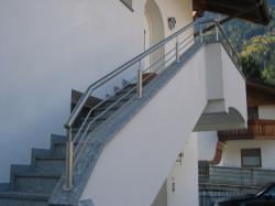 Geländer in Inox...