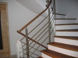 Treppengeländer mit Ho...