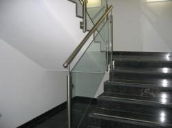 Treppengeländer mit Gl...