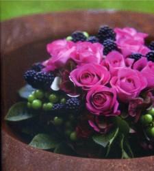 Rosen in Rostschüssel...
