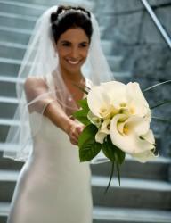 Brautstrauß Calla weiß...