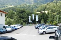 Kundenparkplatz...